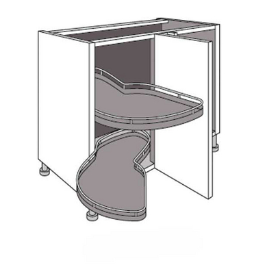 meuble angle cuisine 120