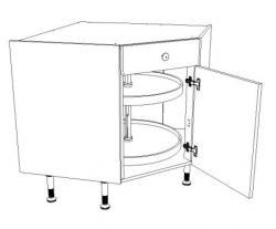 meuble angle cuisine 90 cm