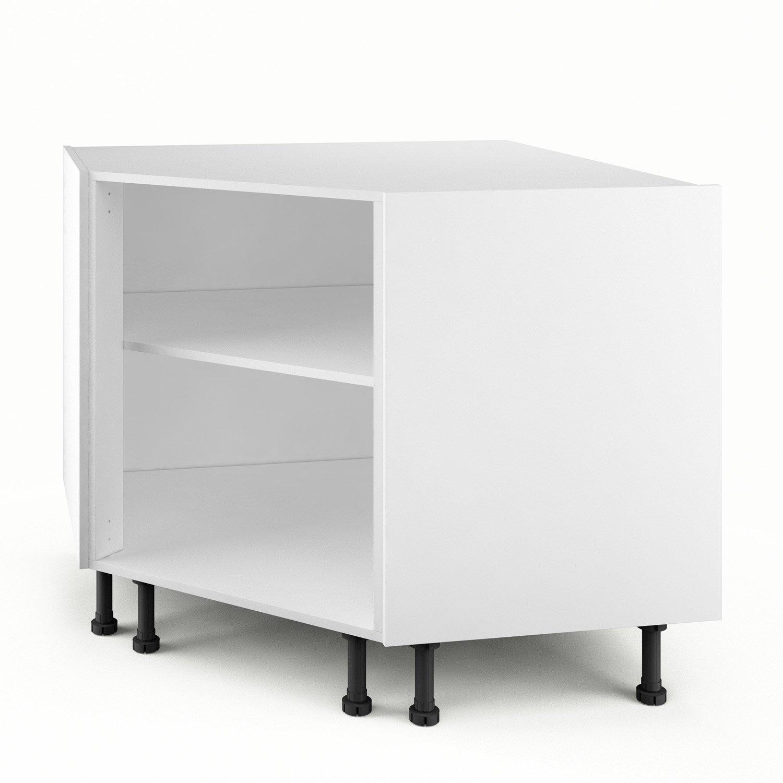meuble angle cuisine blanc