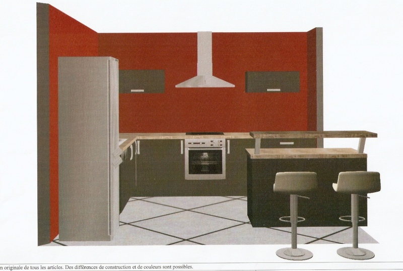 meuble angle cuisine ixina