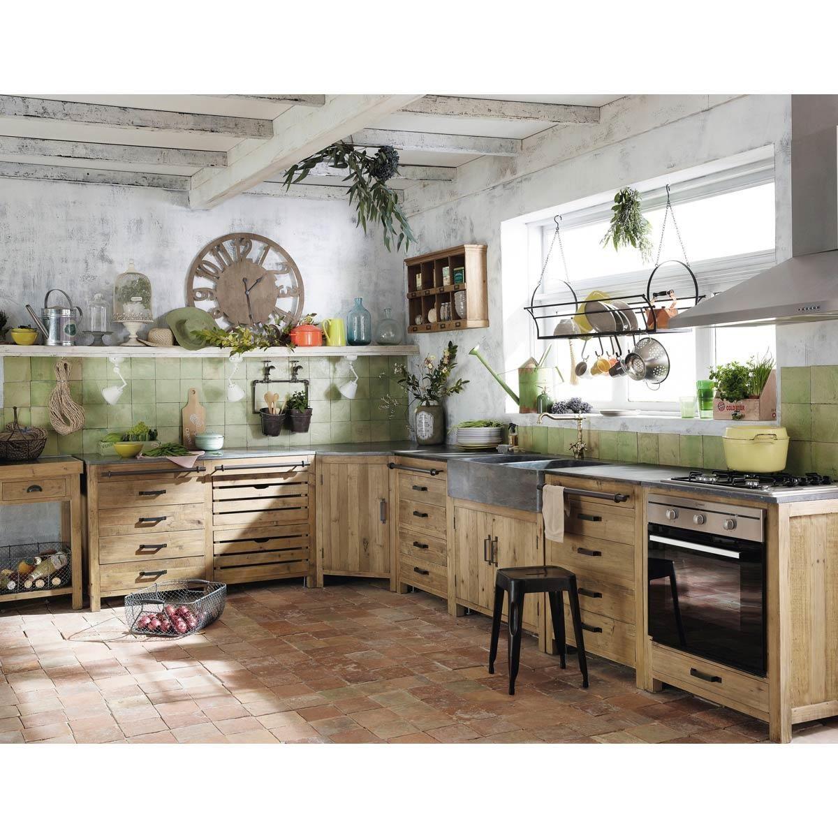 meuble angle cuisine maison du monde