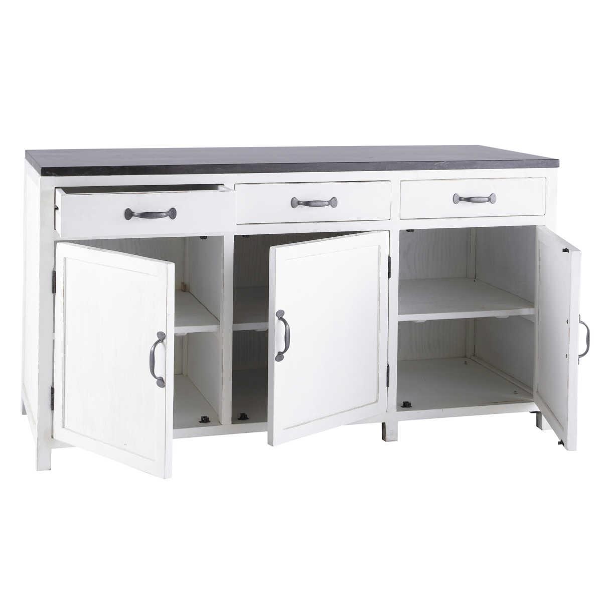 meuble bas cuisine 200 cm