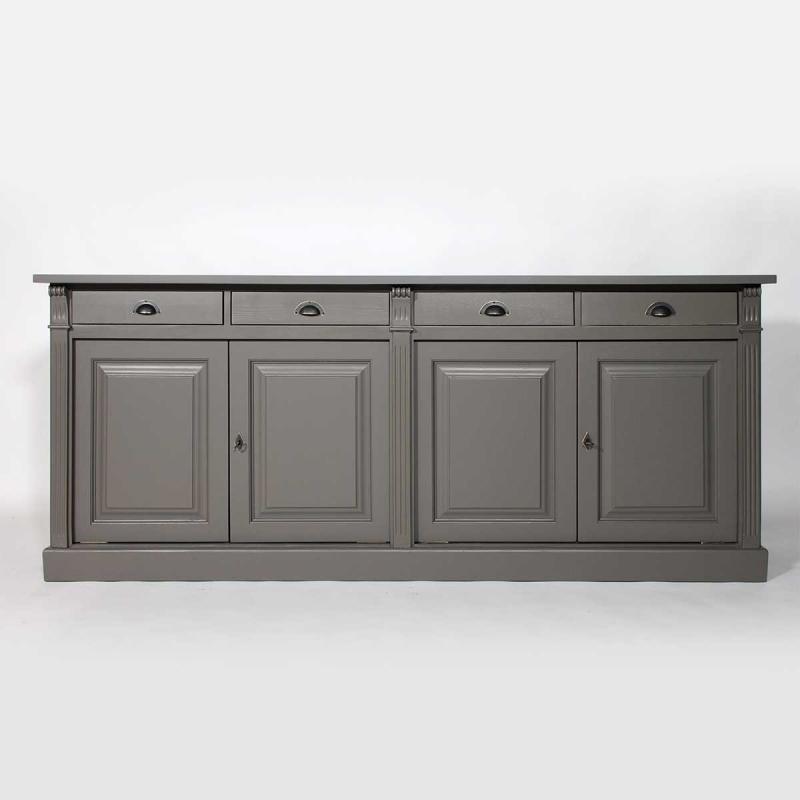 meuble bas cuisine 4 portes