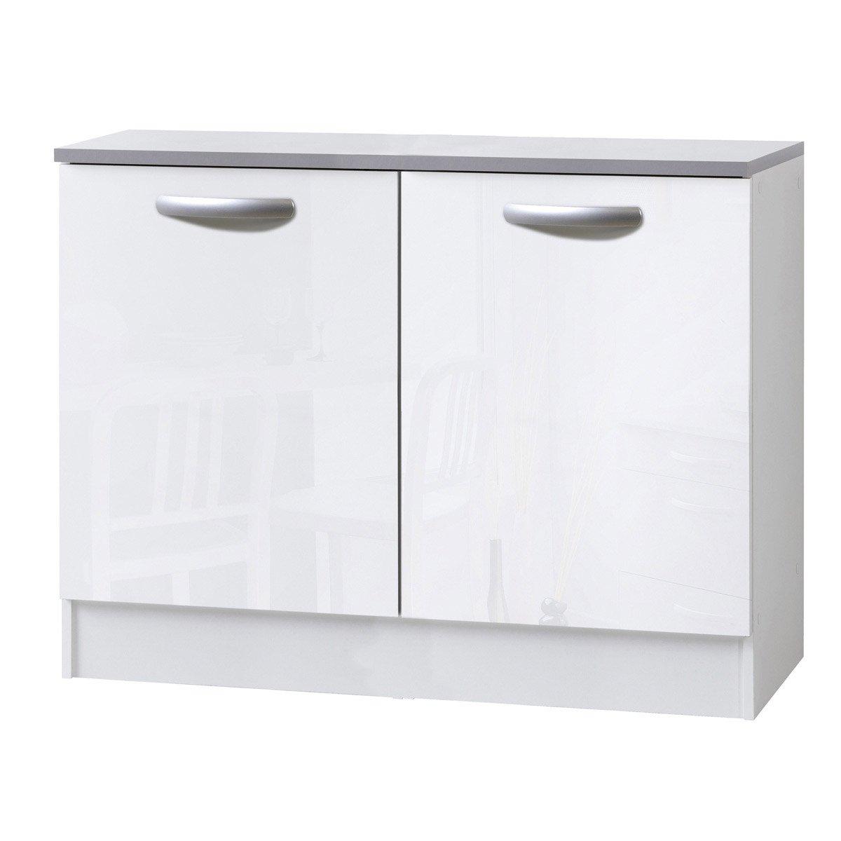 meuble bas cuisine 40 cm pas cher