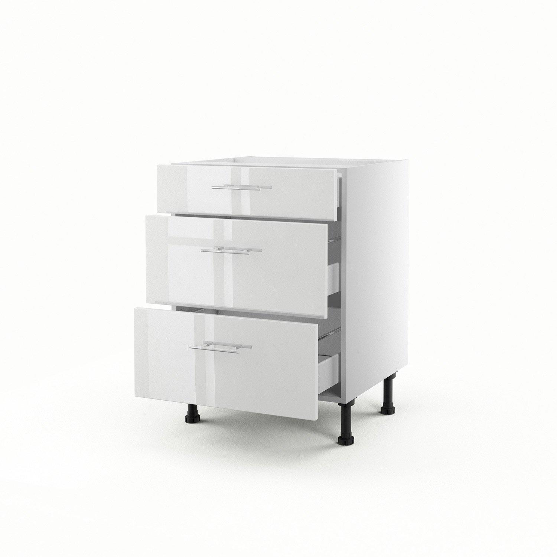 meuble bas cuisine 60 cm tiroir