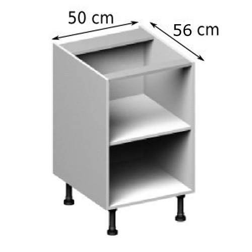 meuble bas cuisine 50 cm longueur
