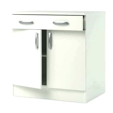 meuble bas cuisine blanc 100 cm