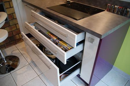 meuble bas cuisine grand tiroir