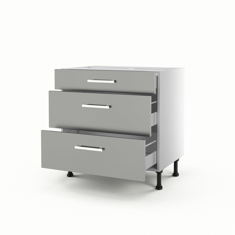 meuble bas cuisine hauteur 80 cm