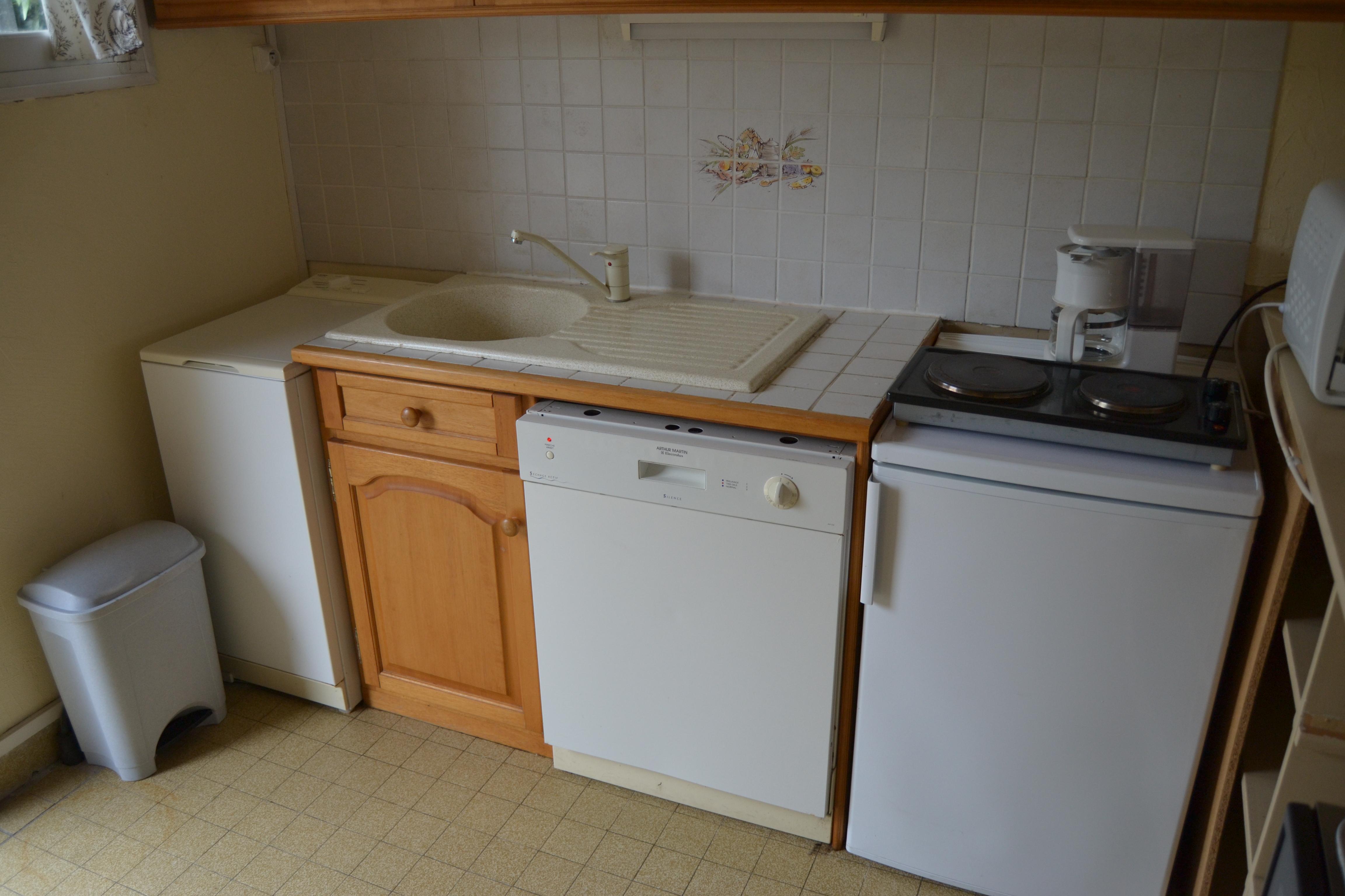 meuble bas cuisine lave vaisselle