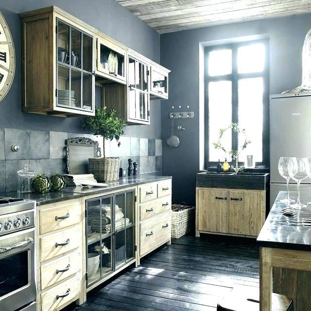 meuble bas cuisine style campagne