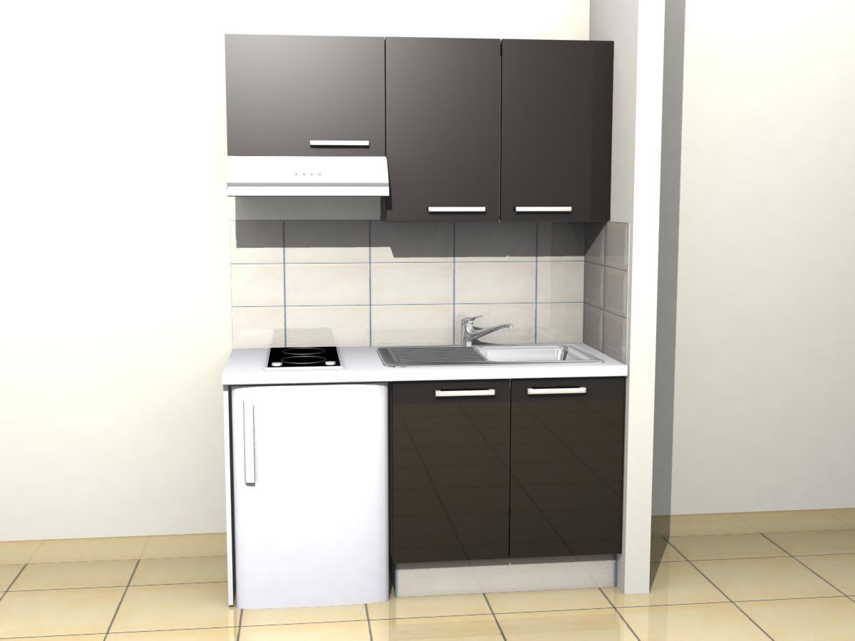 meuble cuisine 150 cm