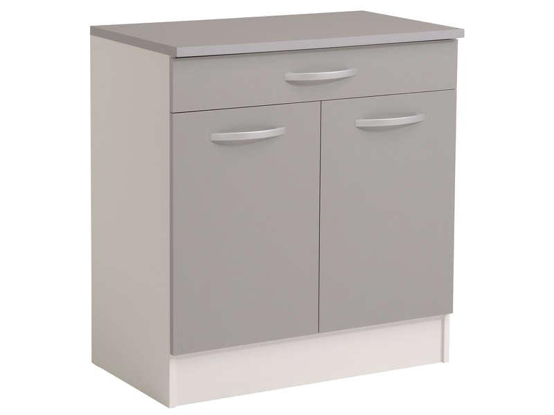 meuble cuisine 2 portes