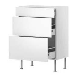 meuble cuisine 3 tiroirs ikea