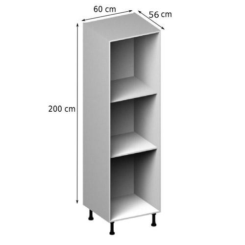 meuble cuisine 55 cm