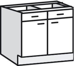 meuble cuisine 80 cm brico depot