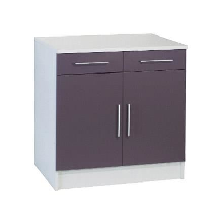 meuble cuisine 80 cm profondeur. Black Bedroom Furniture Sets. Home Design Ideas