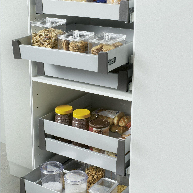 meuble cuisine a tiroir coulissant