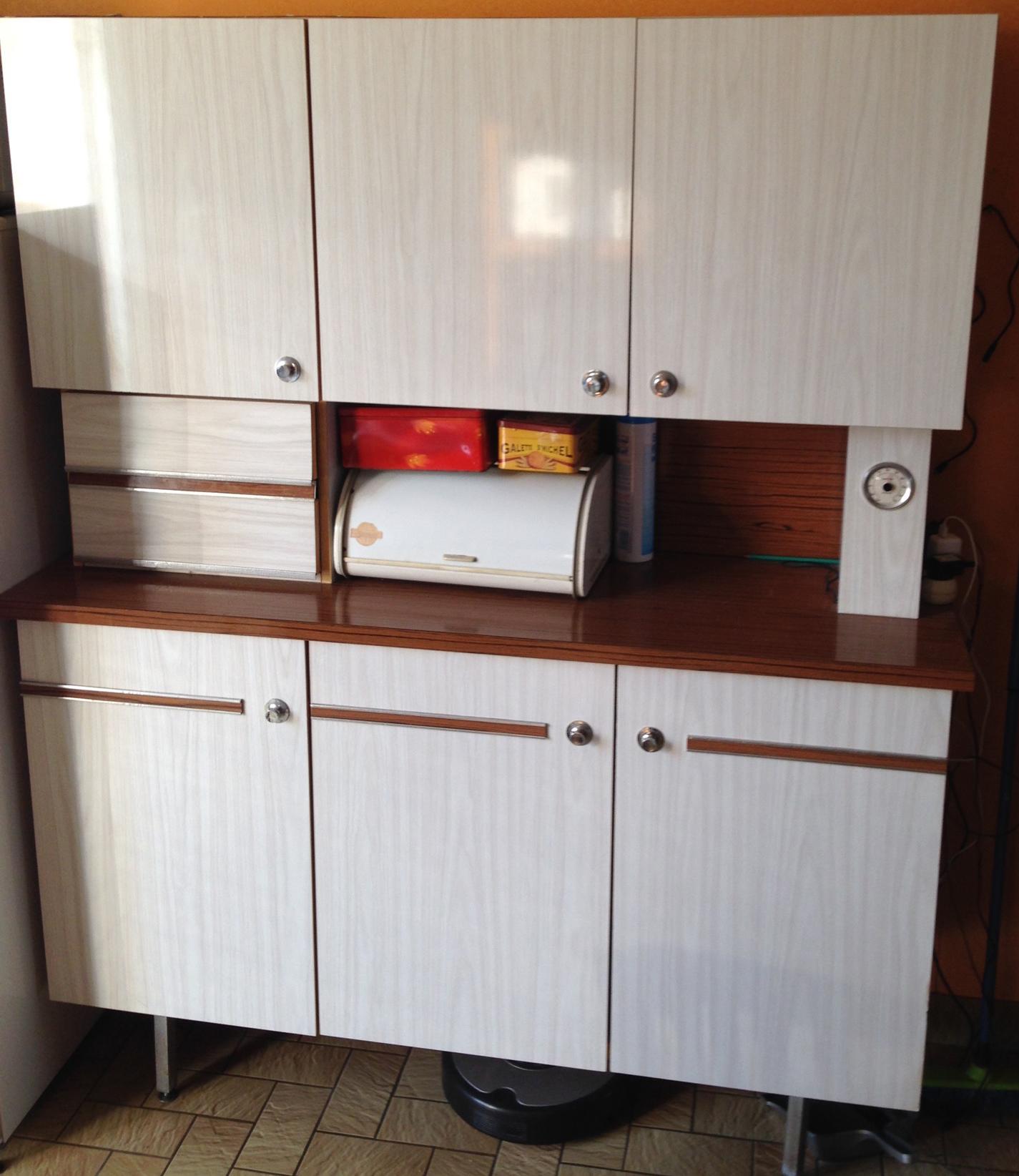 meuble cuisine annee 70