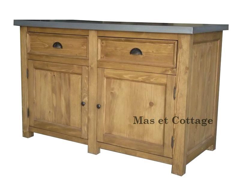 meuble cuisine bois