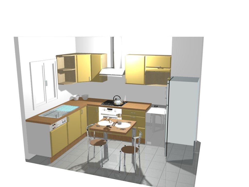 meuble cuisine de coin