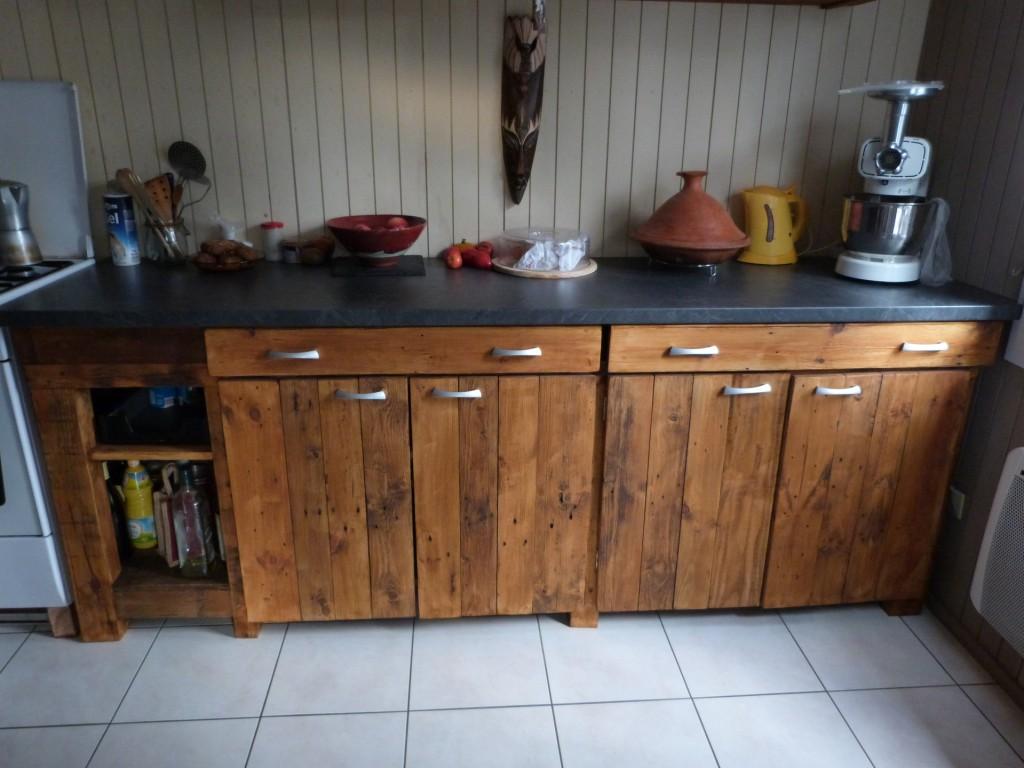 meuble cuisine fer