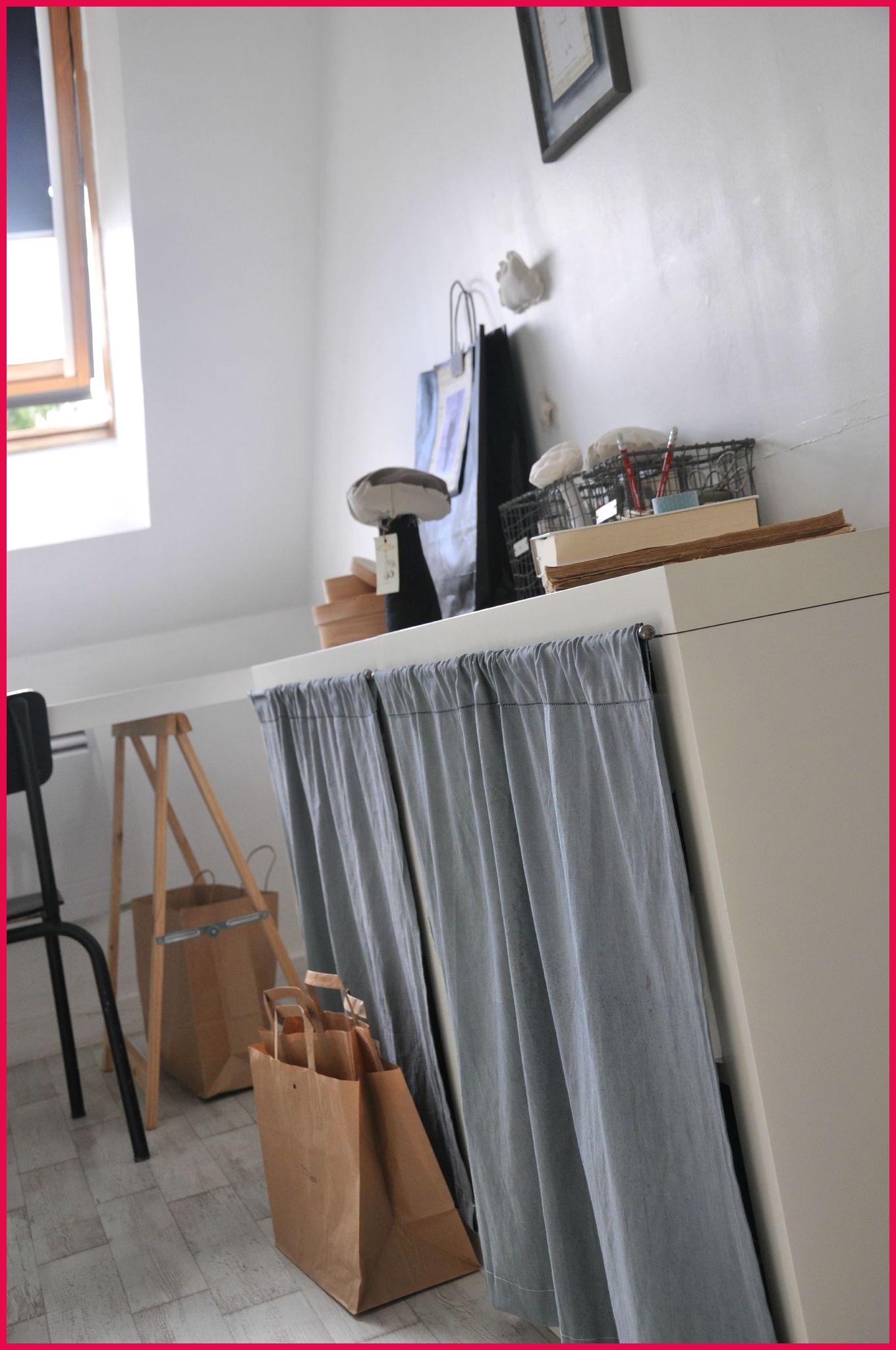 meuble cuisine fermeture rideau