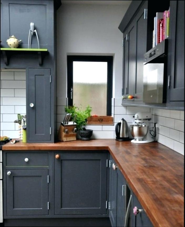 meuble cuisine gris fonce