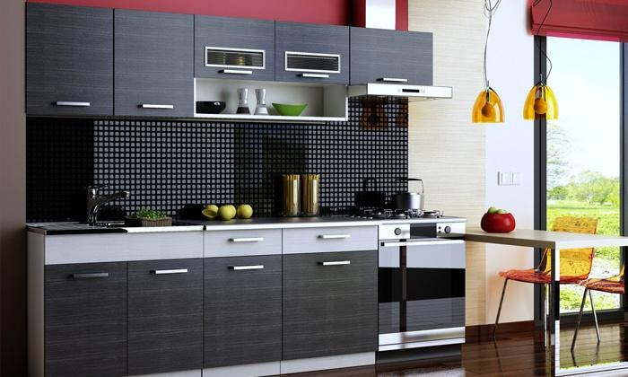 meuble cuisine groupon