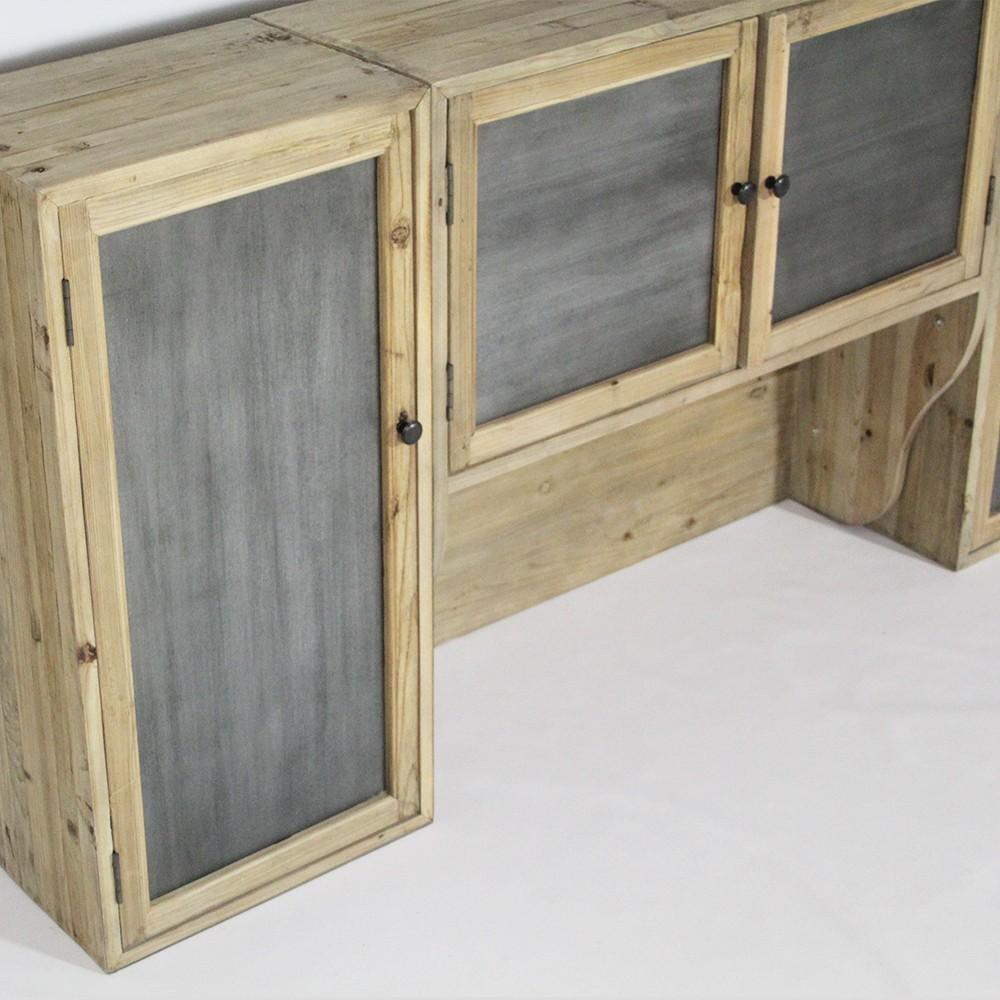meuble cuisine haut bois