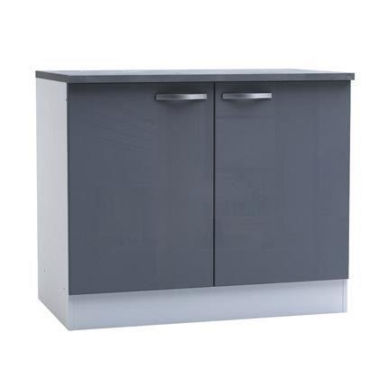meuble cuisine hauteur 100 cm