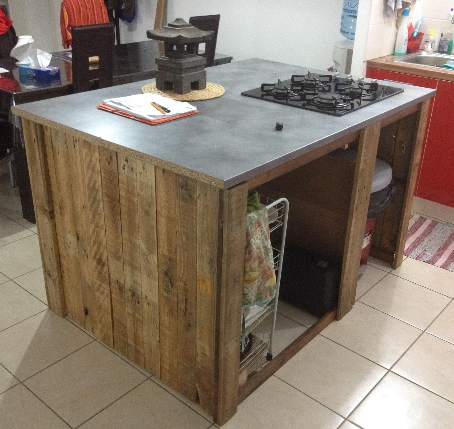 meuble cuisine ilot