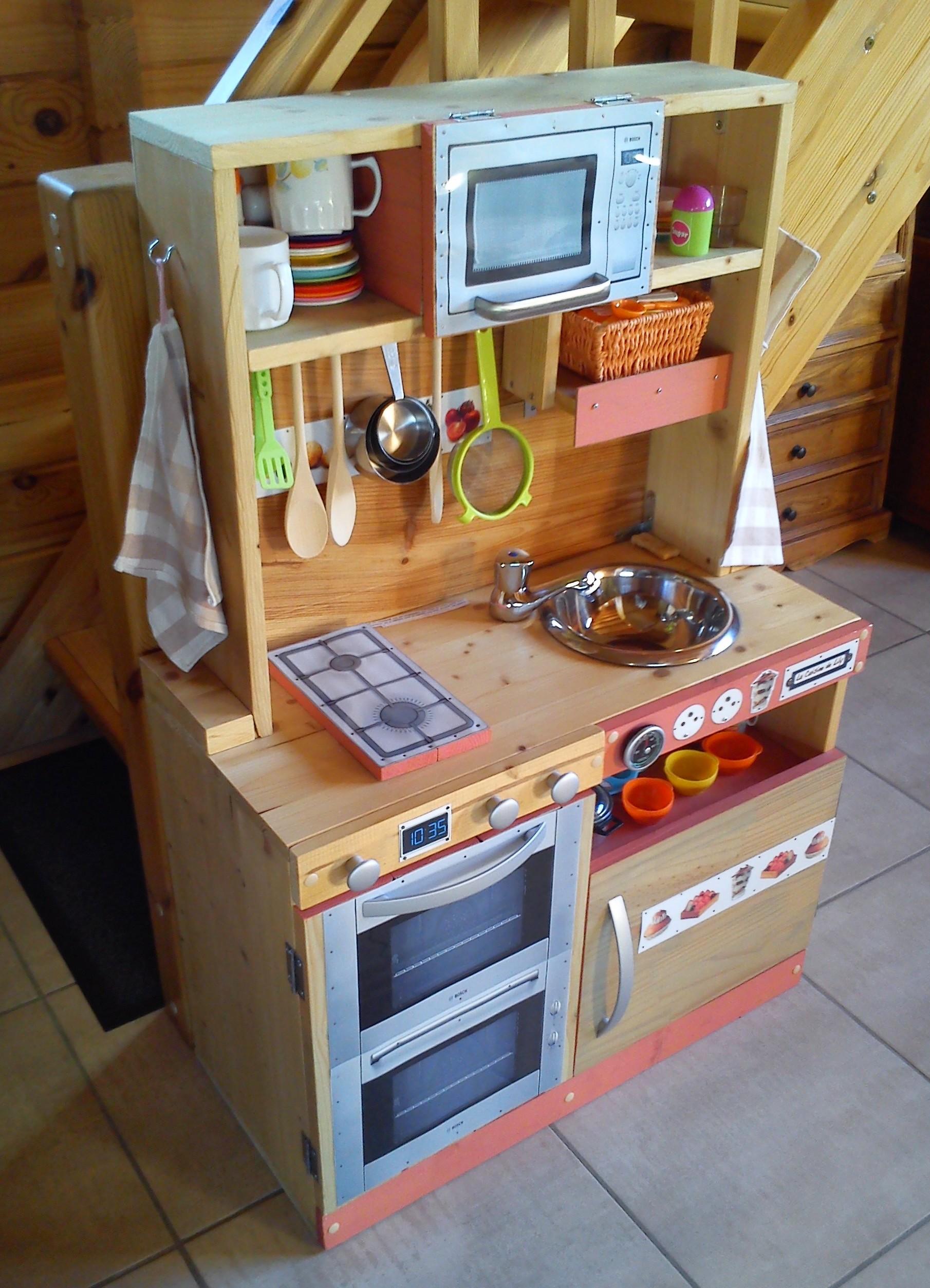 meuble cuisine jouet