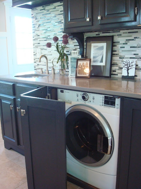 meuble cuisine lave linge