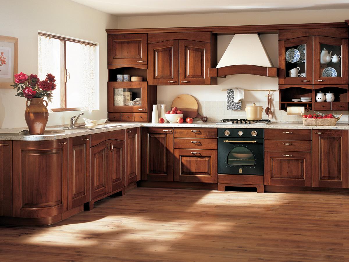 meuble cuisine noyer