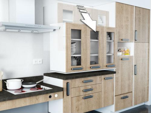 meuble cuisine ouverture automatique