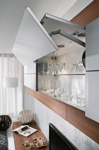 meuble cuisine ouverture vers le haut