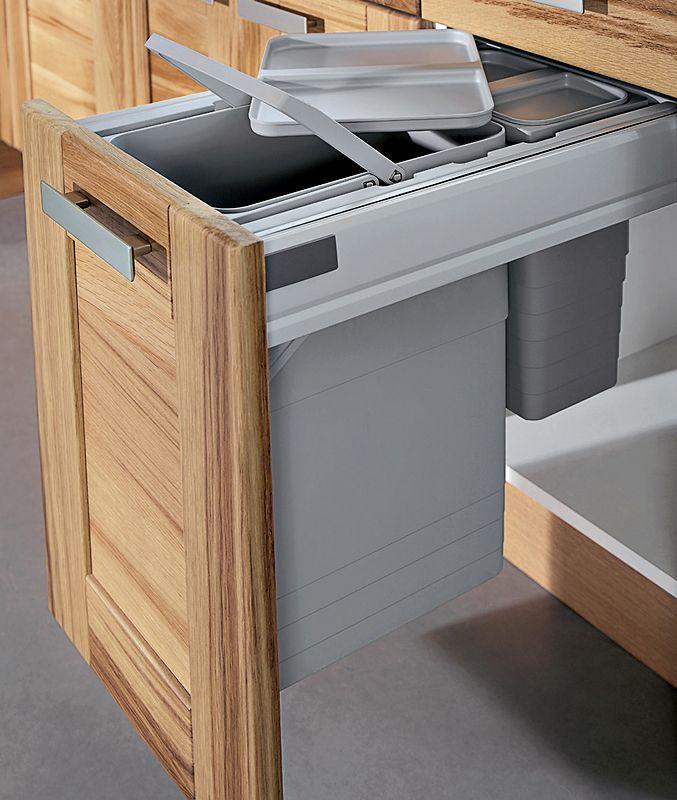 meuble cuisine poubelle