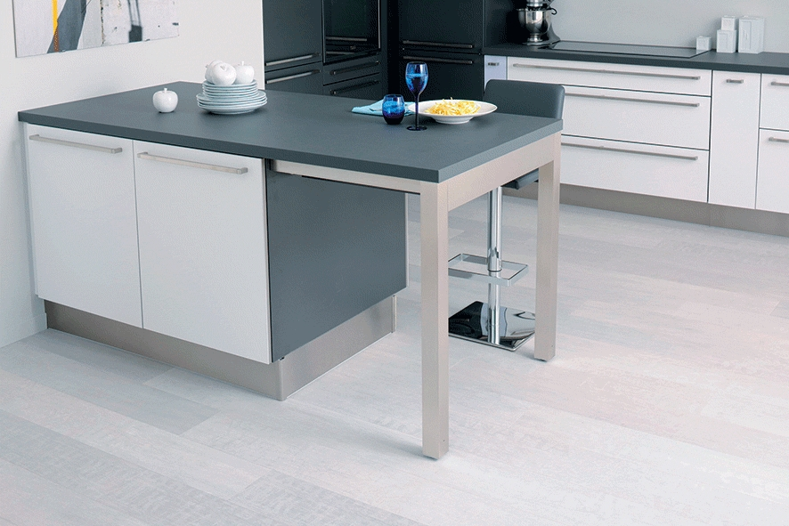 meuble cuisine qui fait table