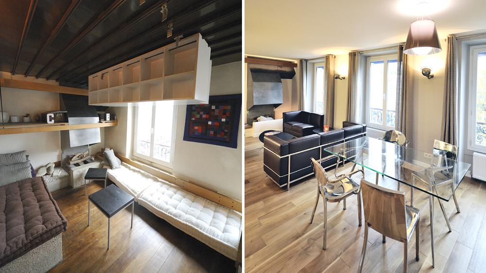 meuble cuisine suspendu plafond
