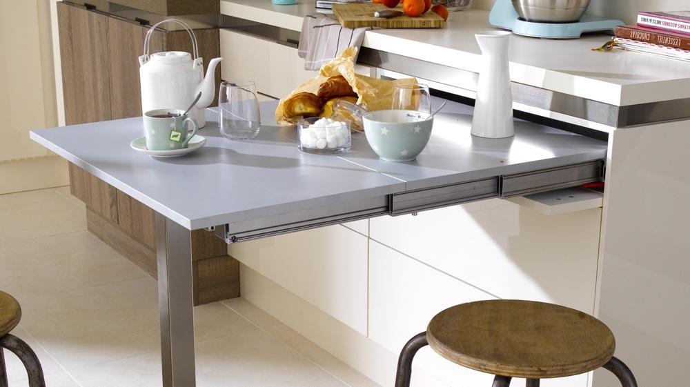 Meuble Cuisine Table Integree