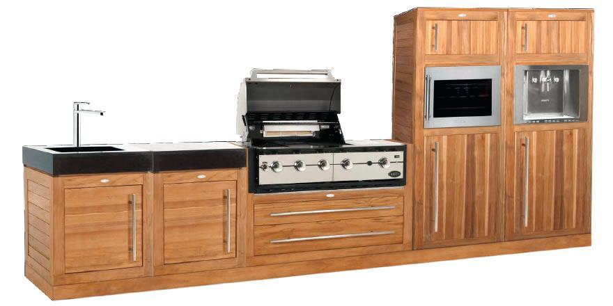 meuble cuisine teck