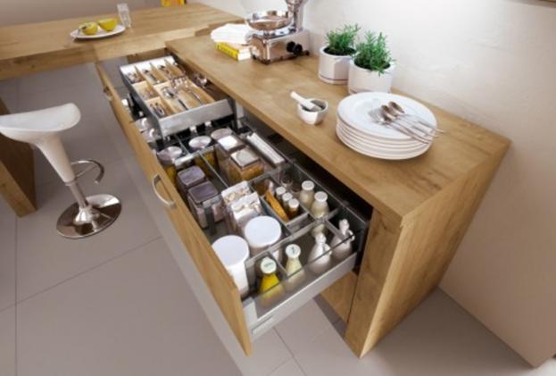 meuble cuisine tiroir casserolier