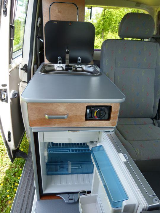 meuble cuisine van