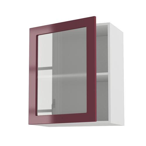 meuble cuisine vitree