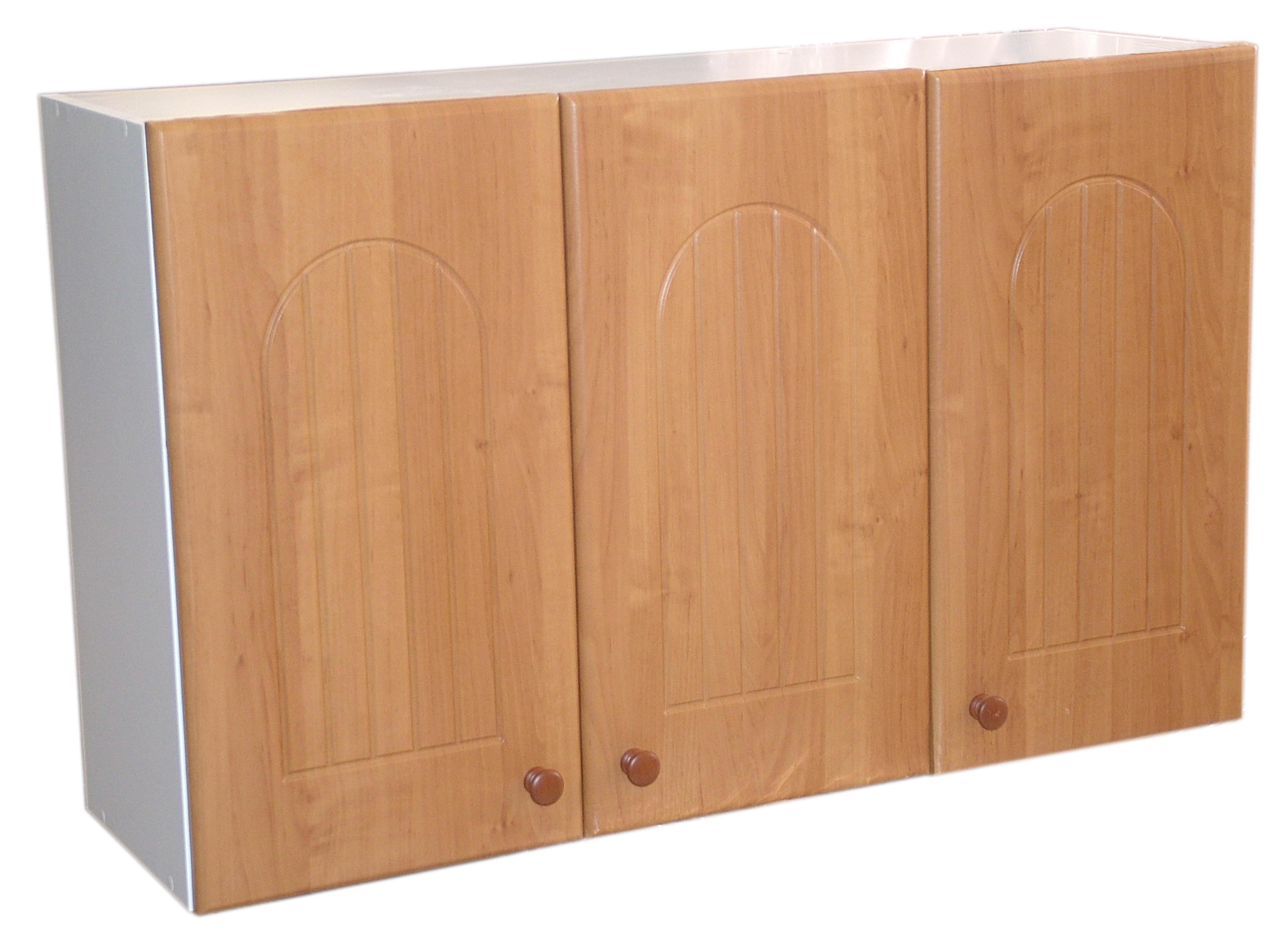 meuble haut cuisine 3 portes