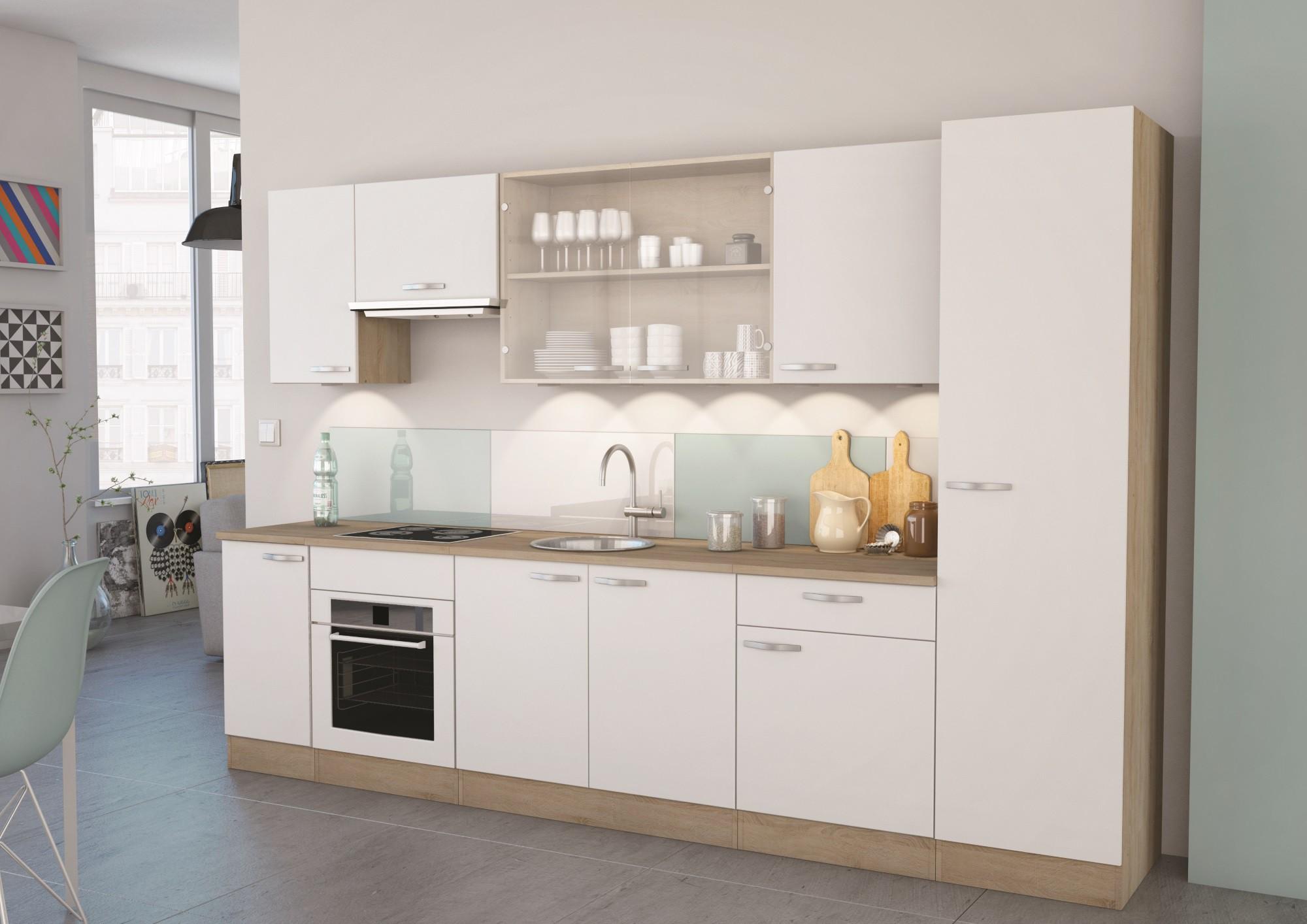 meuble haut cuisine blanc mat
