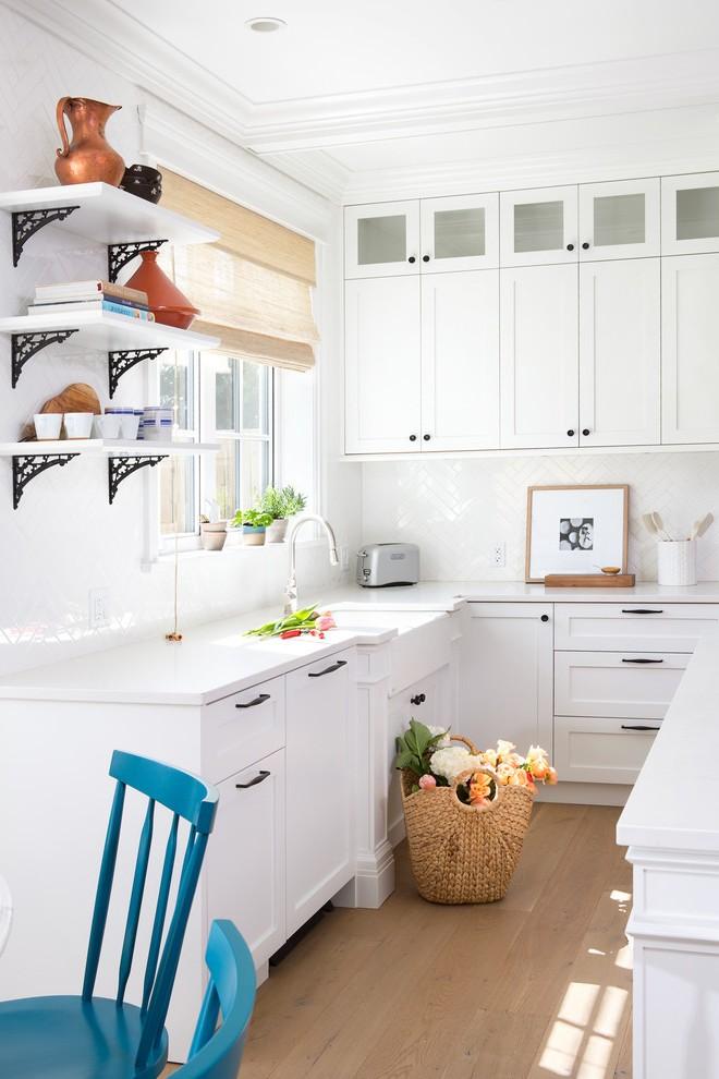 meuble haut cuisine bleu