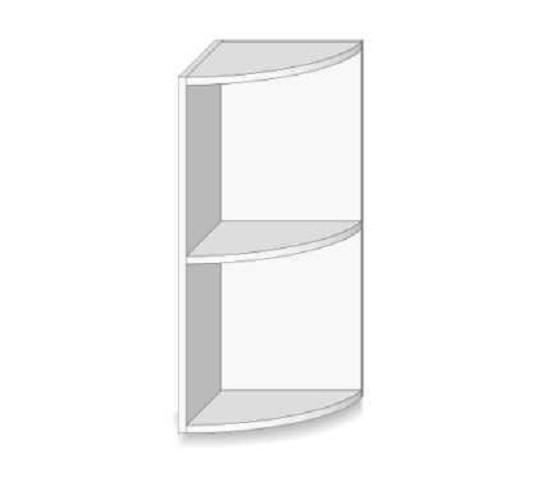 meuble haut cuisine d'angle