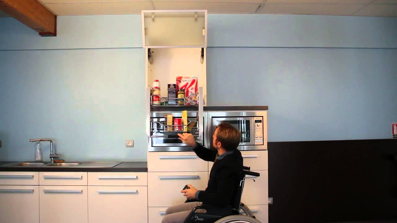 meuble haut cuisine escamotable